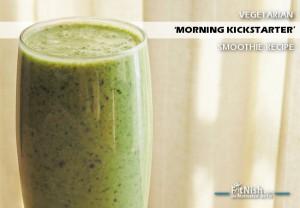 Vegetarian 'Morning Kickstarter' Smoothie Recipe