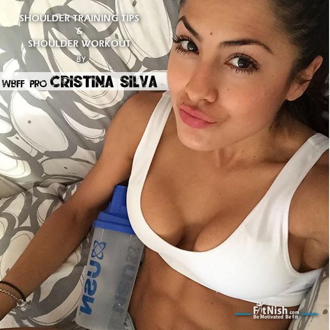 Shoulder Training Tips And Shoulder Workout By WBFF Pro, Cristina Silva