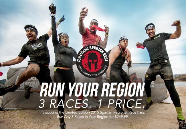 WIN A Free Reebok Spartan Race!