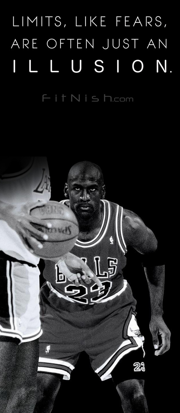 Michael jordan no fear