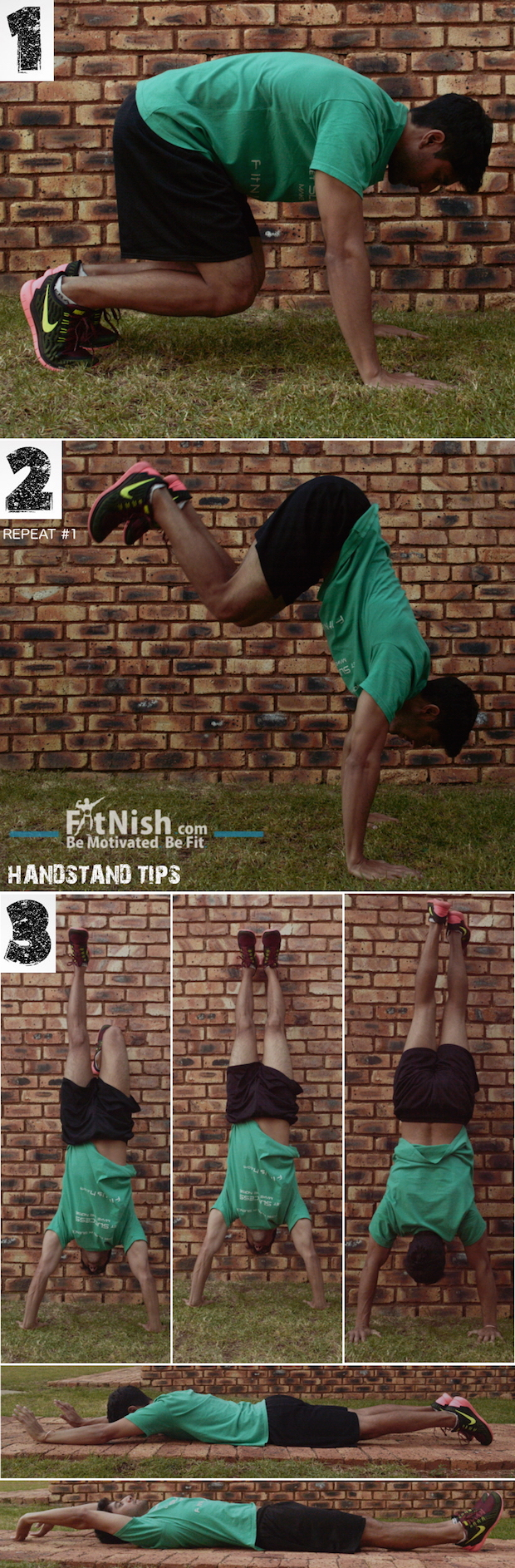 The Fit Five! 5 Tips To Holding A Handstand
