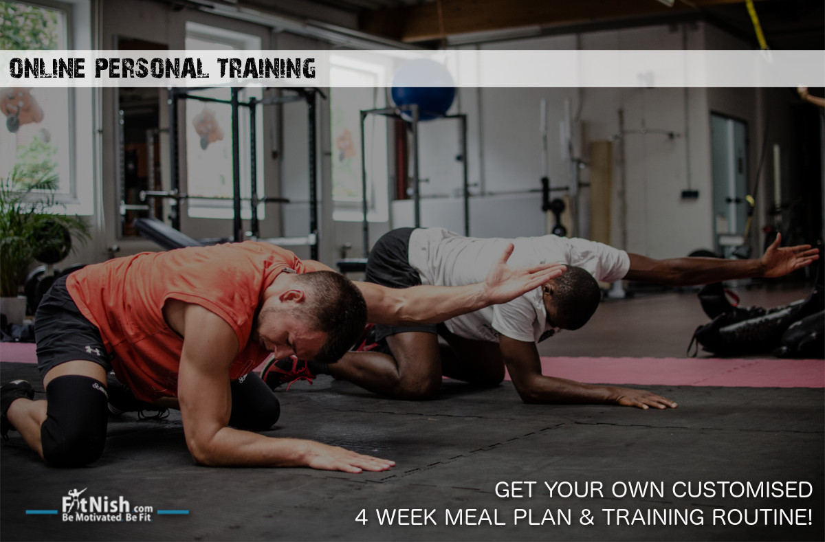 Online Personal Training | Get Your Customised Meal Plan & Training Routine