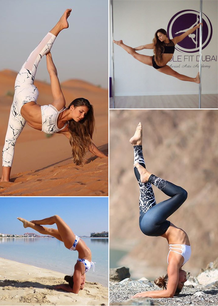 FitNish.com Interview With Co-Founder And Lead Instructor At Pole Fit Dubai, Michelle Qubrosi