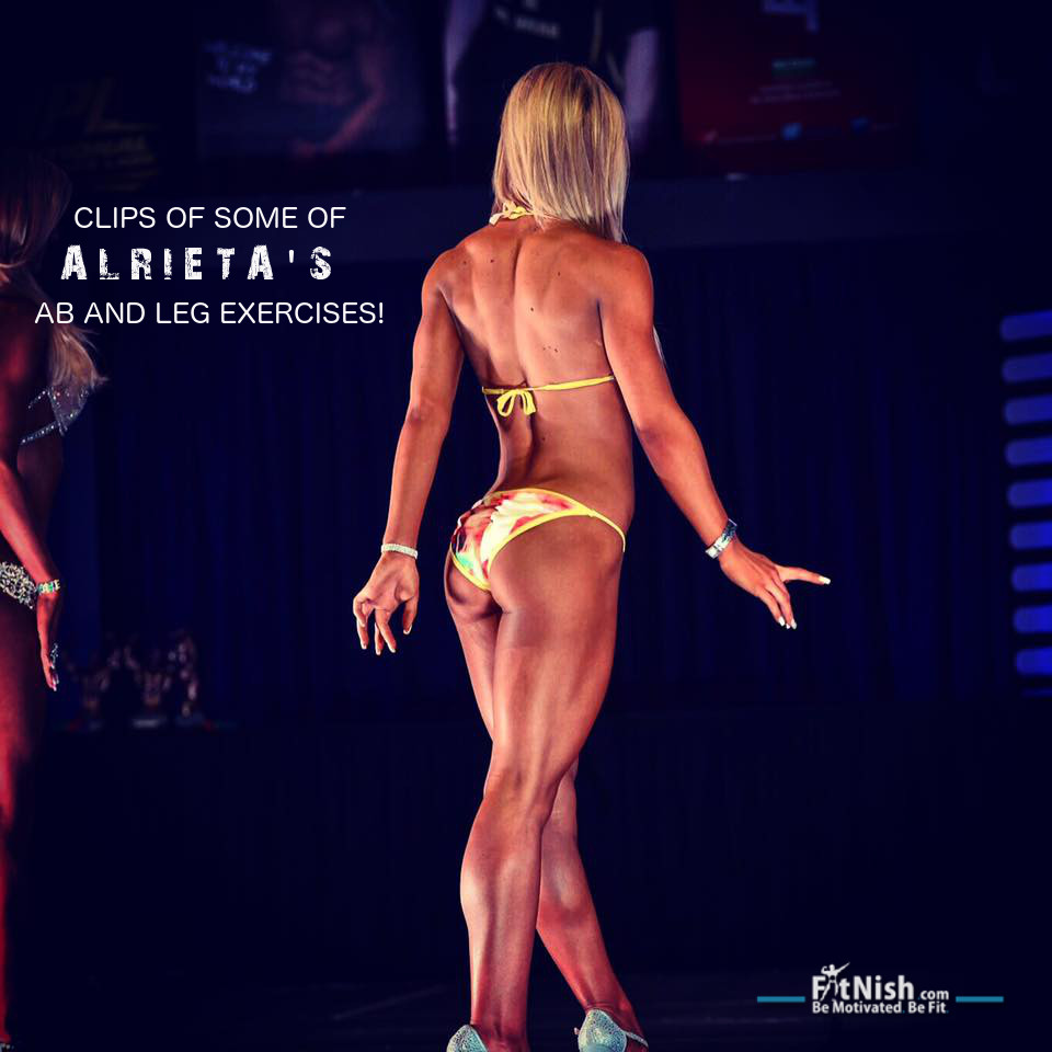 Tired Of Doing The Same Ab And Leg Exercises? Here's A Few Short Clips Of Some Of Alrieta's Exercises!