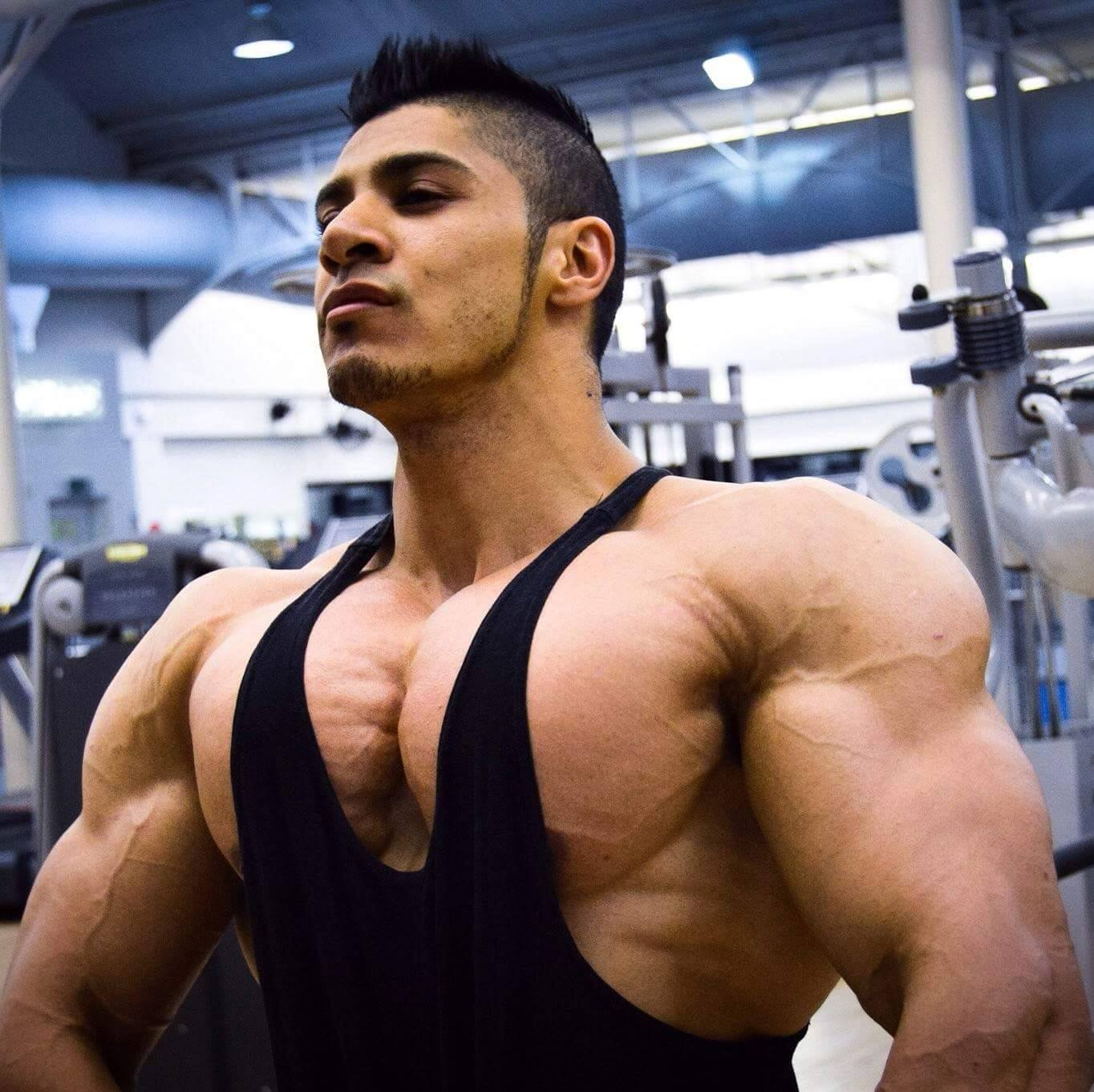 Mohseen Patel Shares His Chest And Back Training Workouts And Secrets!