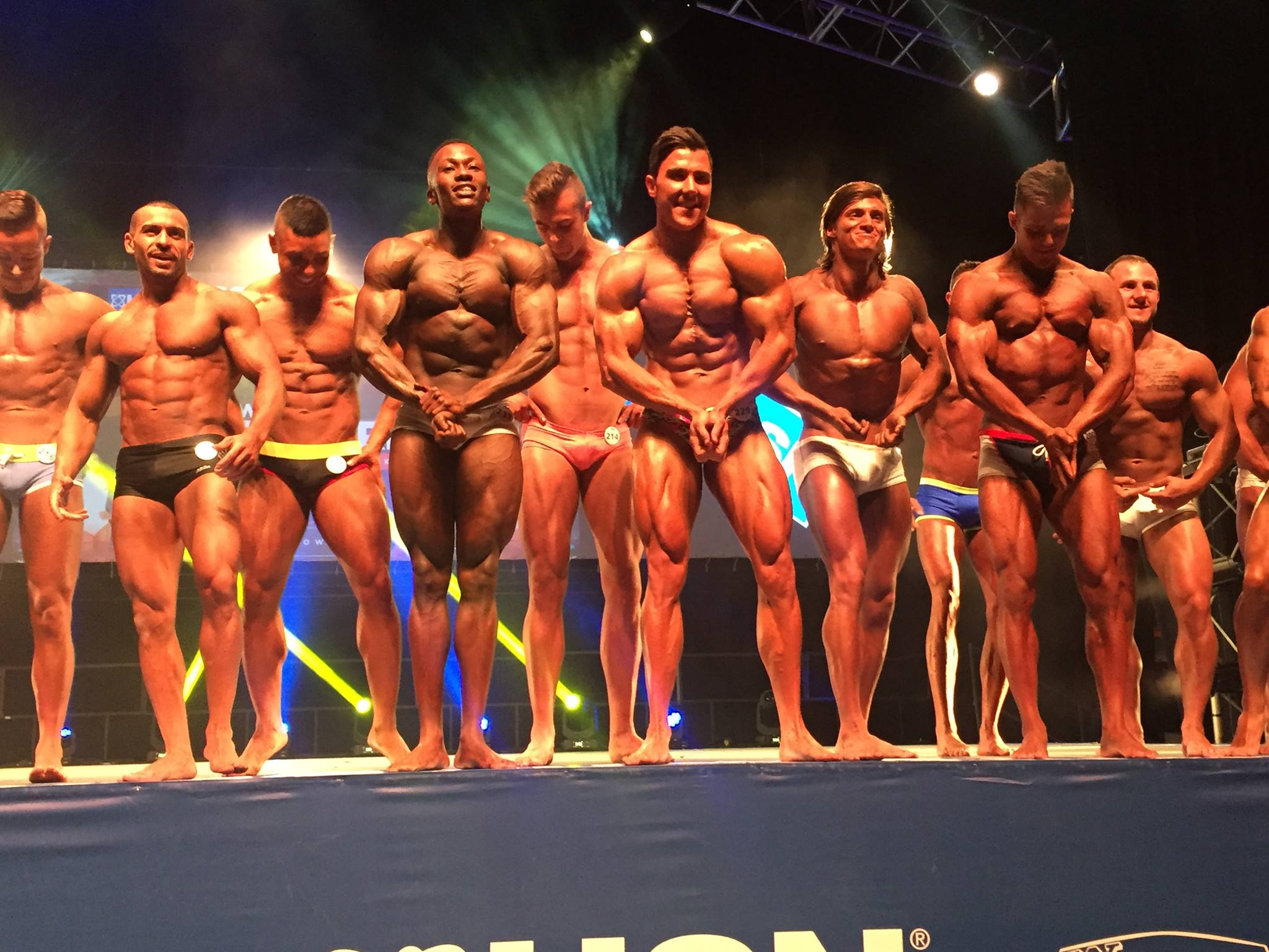 WBFF SOUTH AFRICA 2016, RESULTS AND PRO CARD WINNERS