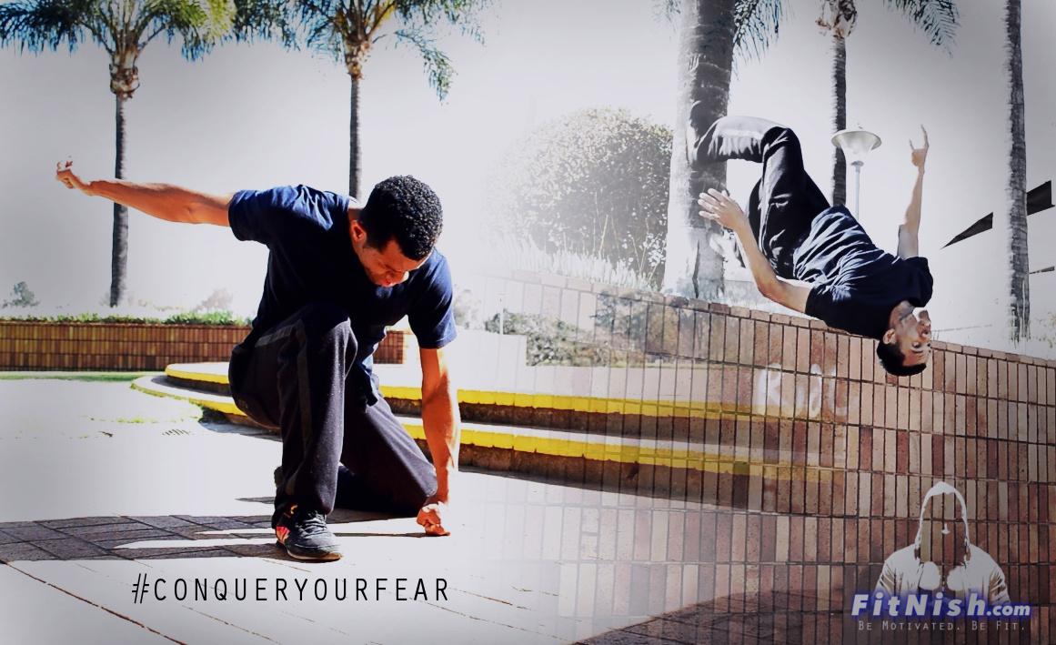 Putting In The PRACTICE. #CONQUERYOURFEAR   Parkour Motivation