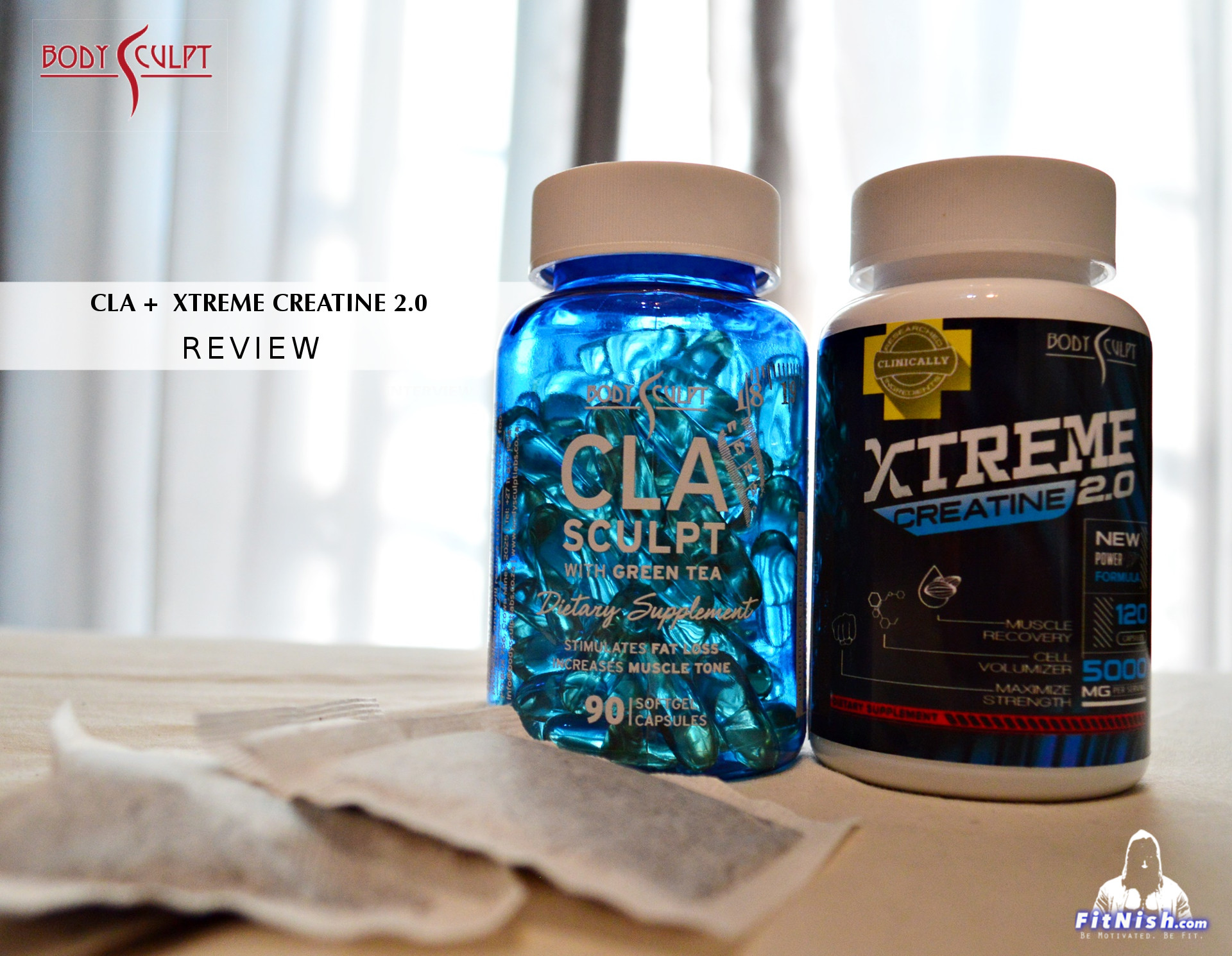 BodySculpt Labs CLA And Xtreme Creatine 2.0 Basic Review
