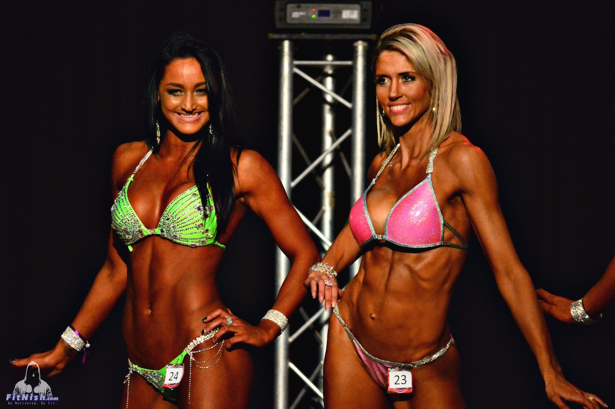 Ladies Fitness Bikini over 168cm: