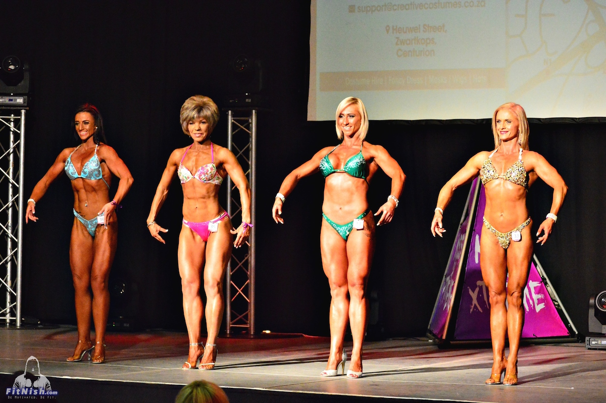 Ladies Body Fitness up to 168cm: