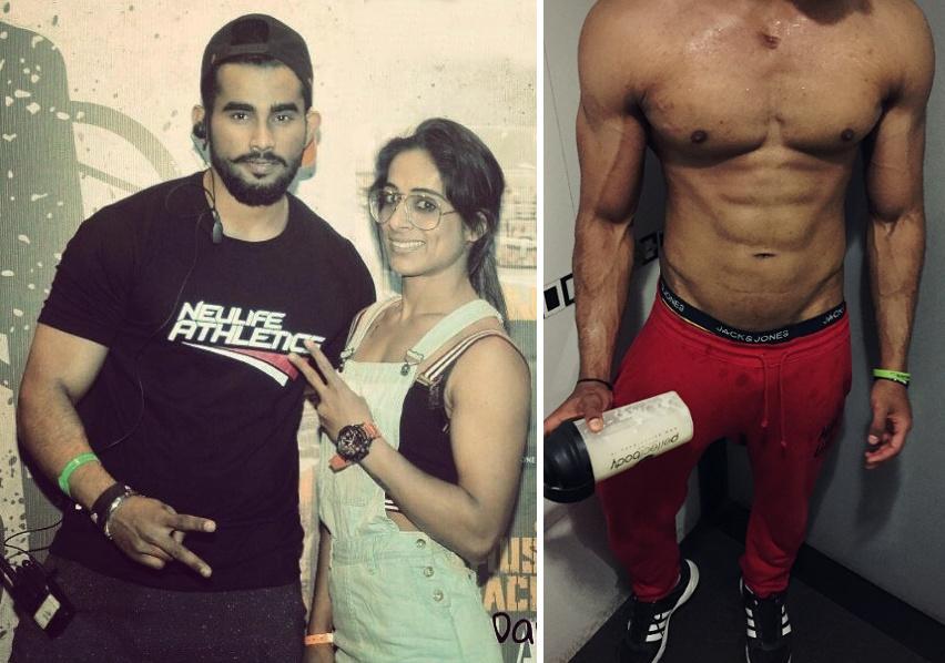 """With Indian Powerlifting + Calisthenics """"Powersthenics"""" Athlete, SuperVinay"""