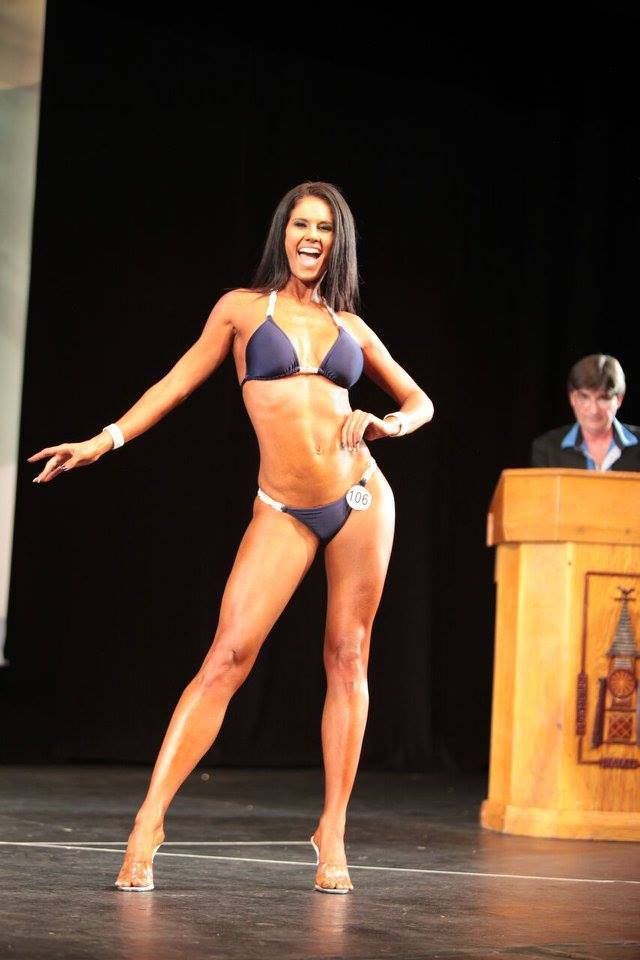 With Up And Coming Bikini Athlete, Hayley T-Rex Wright
