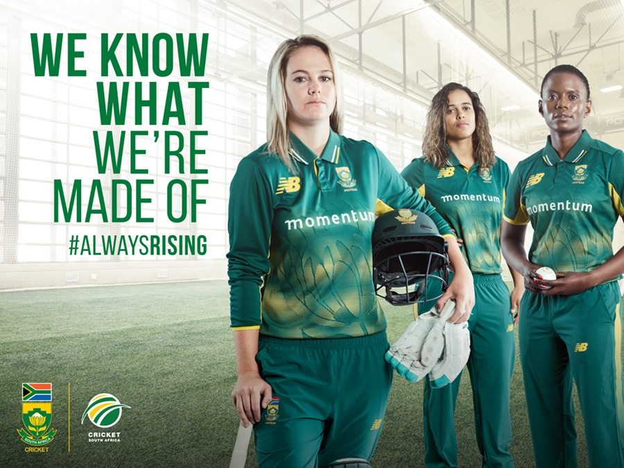 The Momentum Proteas Women's Cricket Team, #ALWAYSRISING
