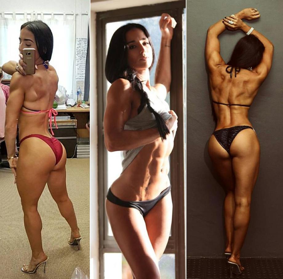 Back and Abs Training With Fitness Bikini Champ, Roxy Amas