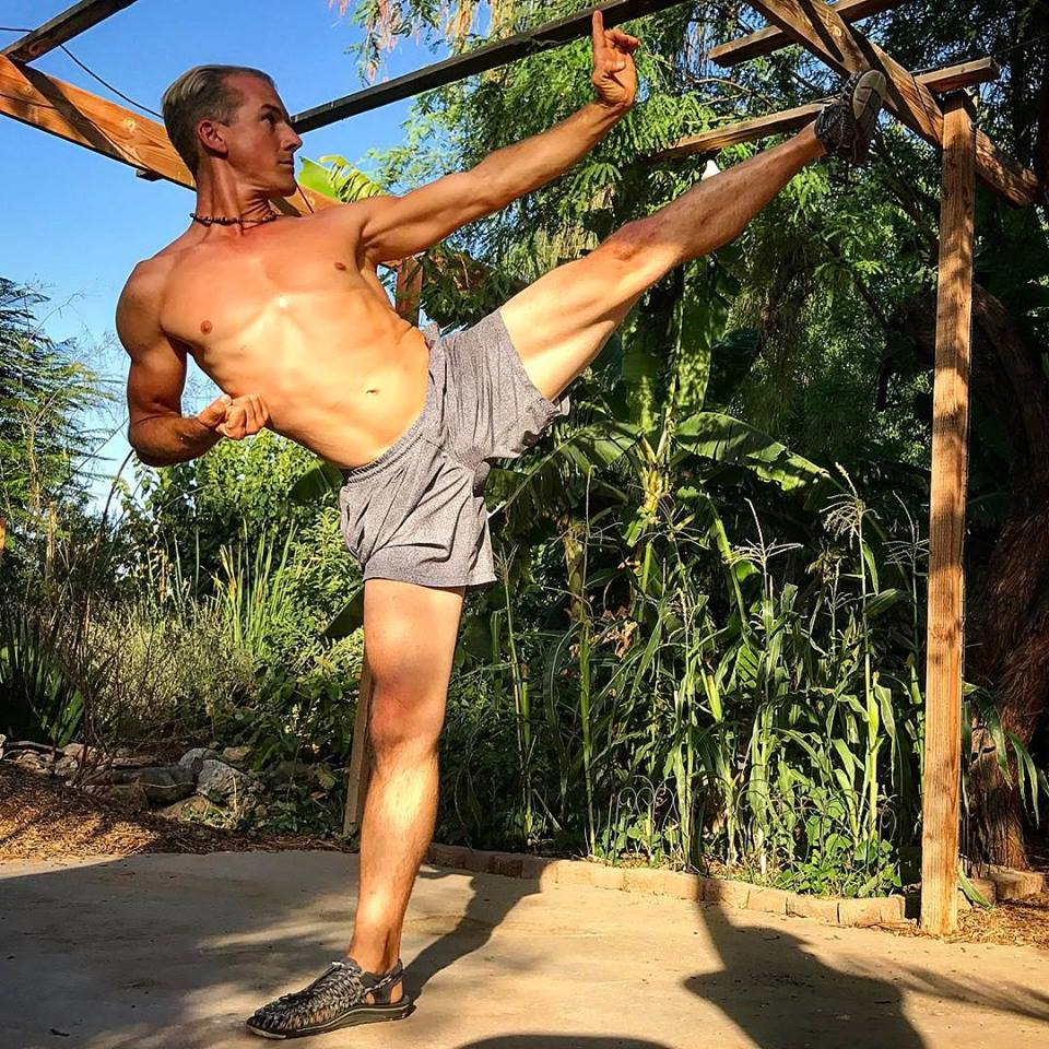 Martial Arts Kicking Workout By Jake Mace