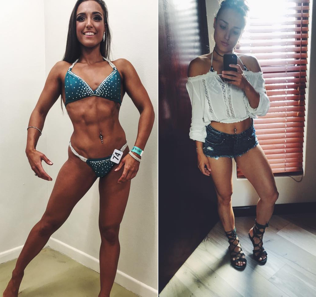 Arms and abs training With Cassandra Veldtman!