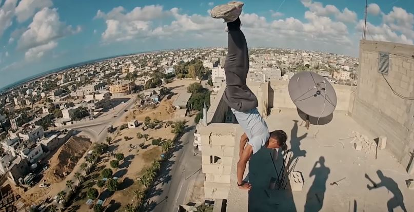 Meet The Wallrunners Of Gaza, By Redbull