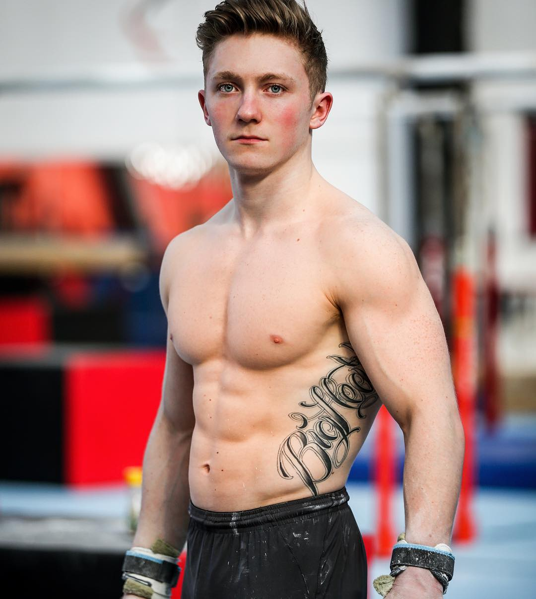 Gymnastics Meets Bodybuilding! By Nile Wilson