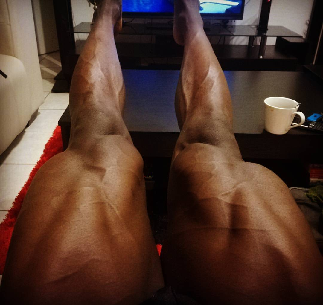 Leg Workout And Some Of The Best Leg Training Tips From Khulekani Sibiya