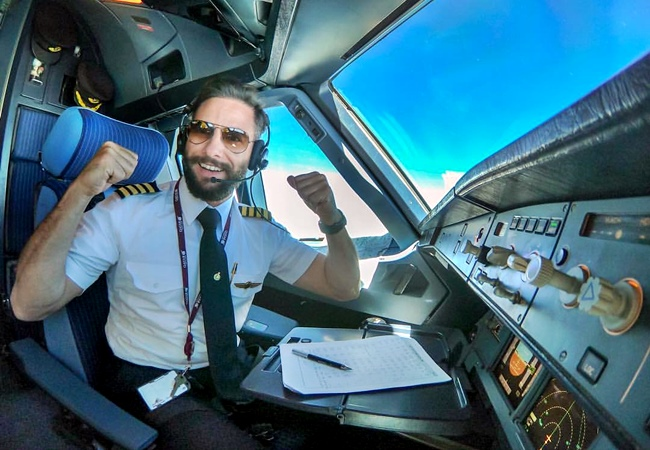 Pilot Amireh, Fitness And Flying Motivation!