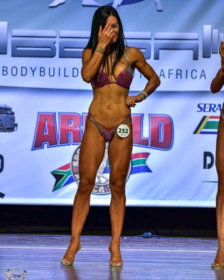 With Personal Trainer And Ifbb Competitor, Karien van der Wal