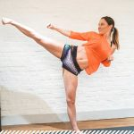 Leg Workout With Just The Wall! 5 Minute Leg Burner Workout By Chloe Bruce!