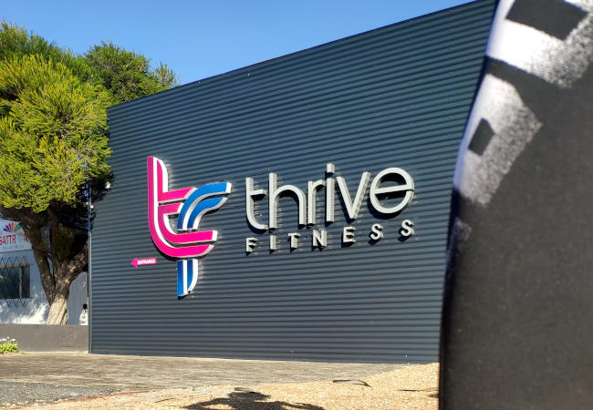 rying Out The Exciting Four Zone Four Station Gym, In Hout Bay, Thrive Fitness!