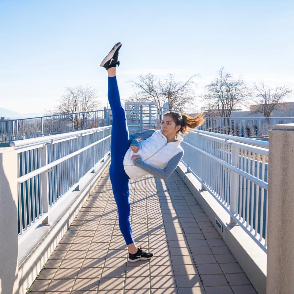 Follow Along With Samery Moras As She Takes Us Through A Taekwondo Kicking Workout