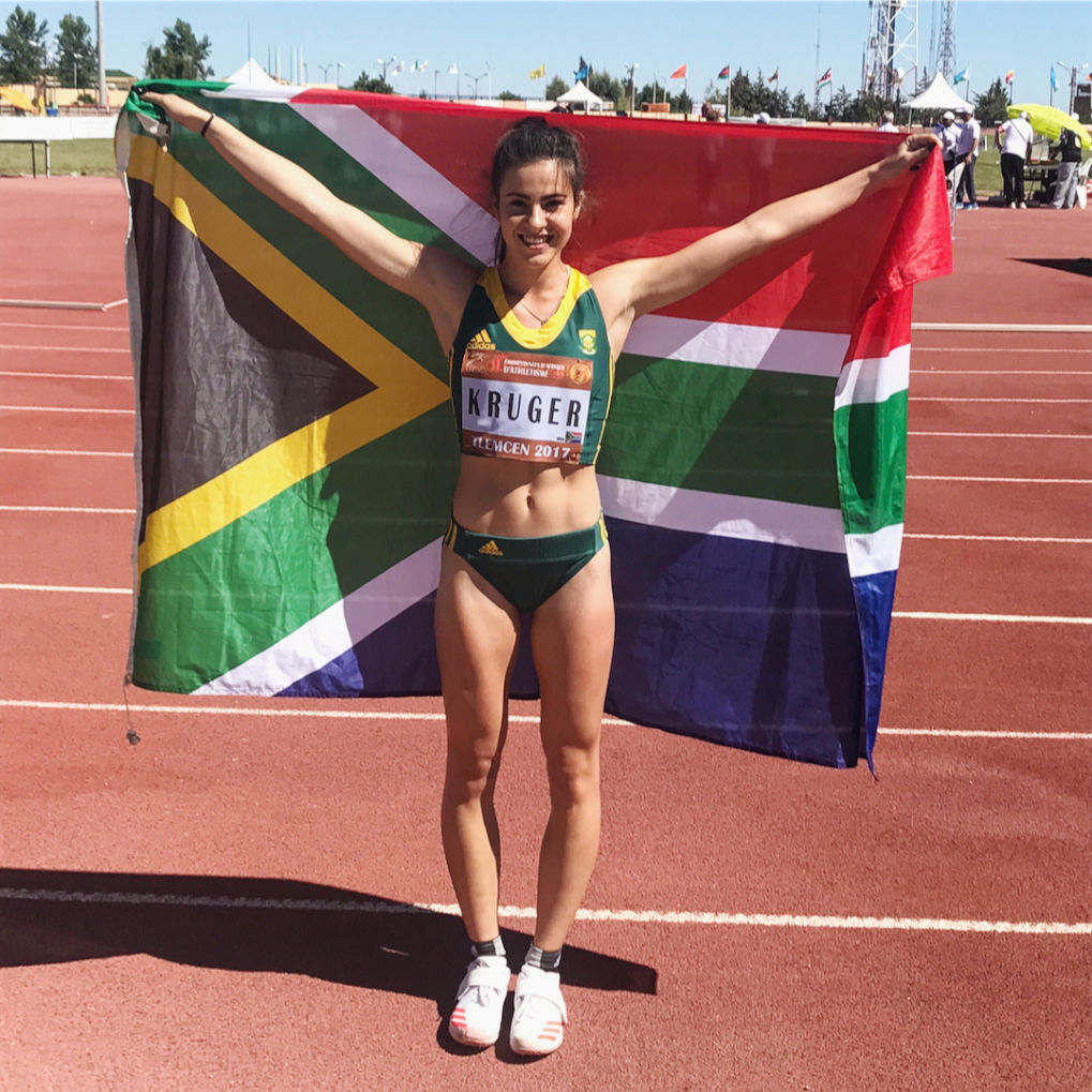One On One With South African Athlete, Eljoné Kruger