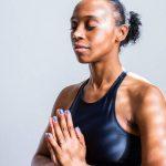 girl yoga pray