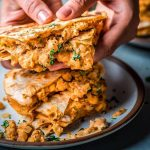Must Try Vegan Chickpea Quesadillas By Nisha Vora