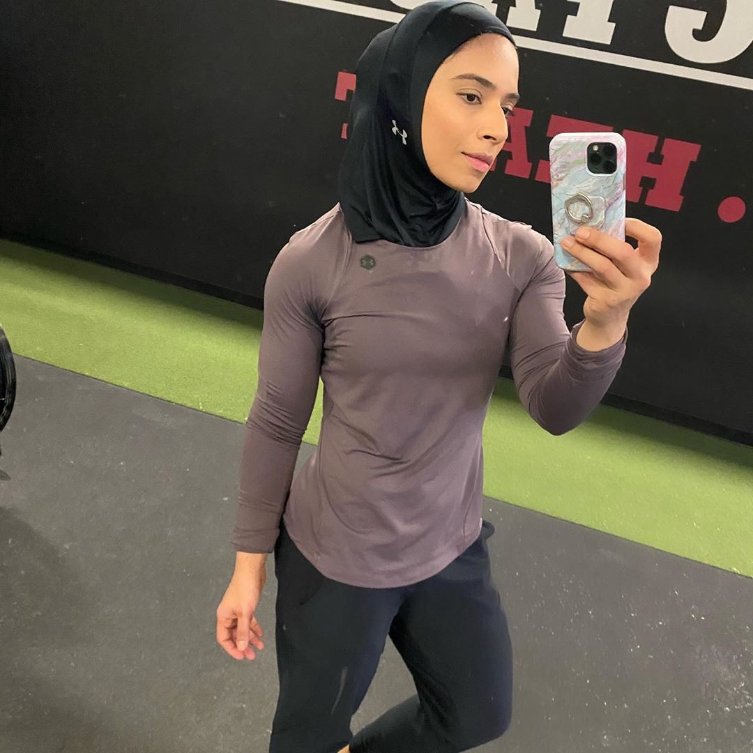 Personal Trainer And Under Armour Athlete, Saman Munir Motivation And Creative Workouts!