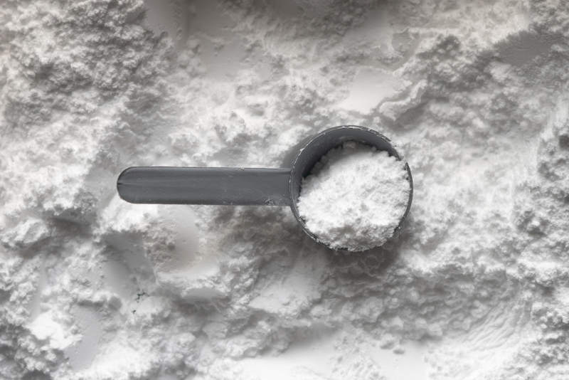 white powder supplement