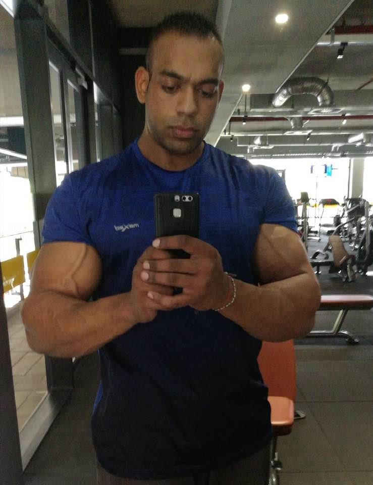 "Prishen Sivanarain, ""The Vegetarian Bodybuilder"""