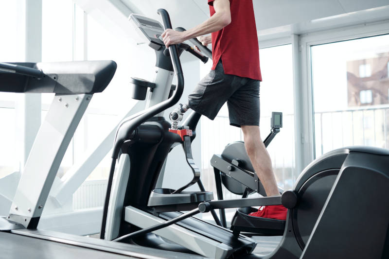 elliptical gym cardio