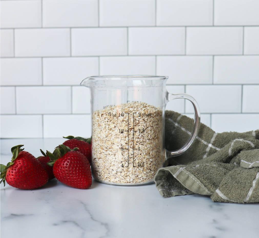 oats strawberries